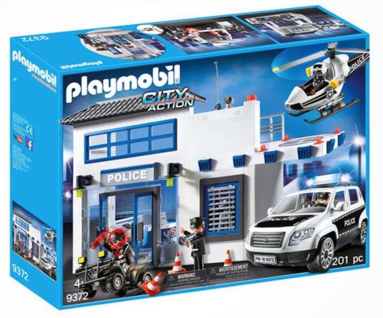 Playmobil City Action - Polizeistation (9372) für 49,81€ inkl. Versand (statt 67€)