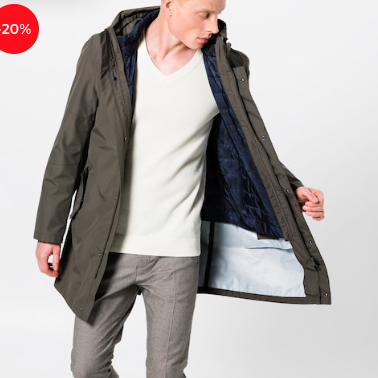 JOOP! Cedrick - Herrenmantel für 271,15€ inkl. Versand (statt 359€)