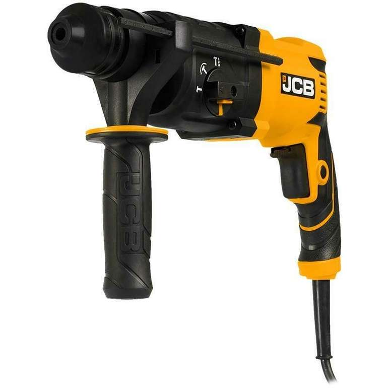 JCB Bohrhammer und Meißelhammer im Handwerkerkoffer (850W, SDS-plus) für 69,90€ inkl. Versand (statt 80€)