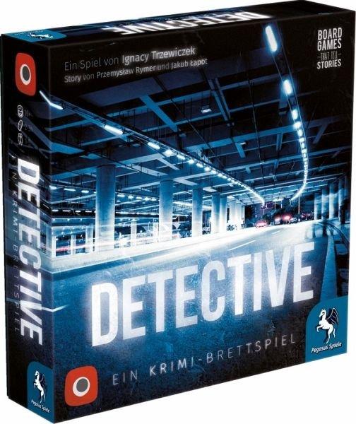 Pegasus Detective - Krimi-Brettspiel für 23,95€ inkl. VSK (Masterpass)