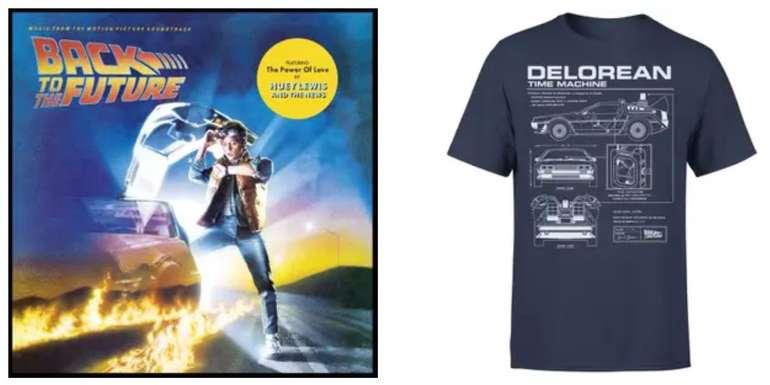 Zurück in die Zukunft Vinyl (OST) + Delorean Schematic T-Shirt für 30,98€ inkl. Versand (statt 38€)