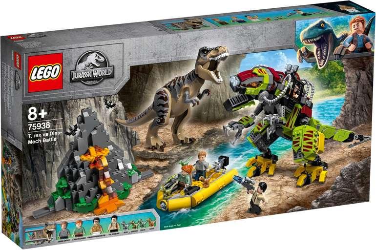Lego Jurassic World - T. Rex vs. Dino-Mech (75938) für 54,90€ (Paydirekt)