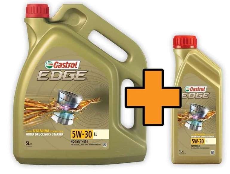 6 Liter Castrol EDGE Titanium FST 5W-30 LL Motoröl für 34€ inkl. Versand (statt 48€) - Newsletter