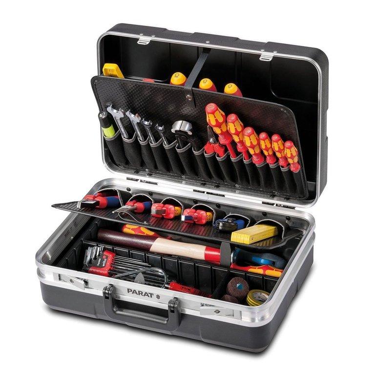 Parat Werkzeugkoffer 485.020-171 mit Einsteckfächern für 69,99€ (statt 80€)