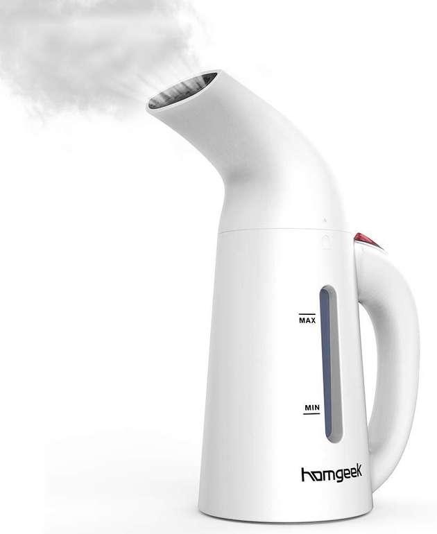 Homgeek Dampfglätter mit 200 ml Wassertank für 17,93€ (Prime)