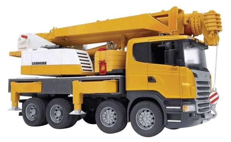 Bruder Scania R-Serie Liebherr Kran LKW (03570) für 46,99€ (statt 59€)