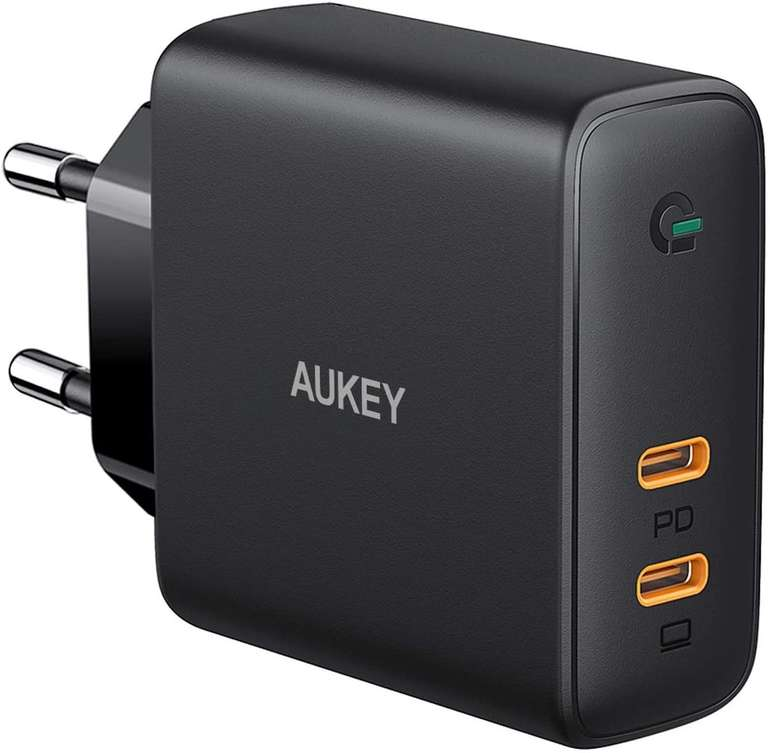 Aukey 60W USB C Ladegerät (PD, Dynamic Detect, GaN Tech) für 29,99€ inkl. Versand (statt 50€)