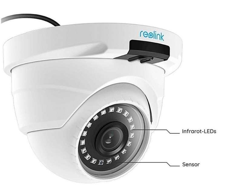 Reolink 5MP PoE IP Kamera, 1920p Überwachungskamera mit Nachtsicht für 43,99€