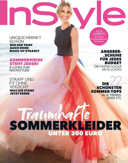 """8 Ausgaben Zeitschrift """"InStyle"""" für 32€ + 30€ Verrechnungsscheck"""