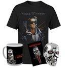 Terminator T-800 Bundle (Tasse, Schlüsselanhänger, Totenkopf, T-Shirt) zu 18,36€