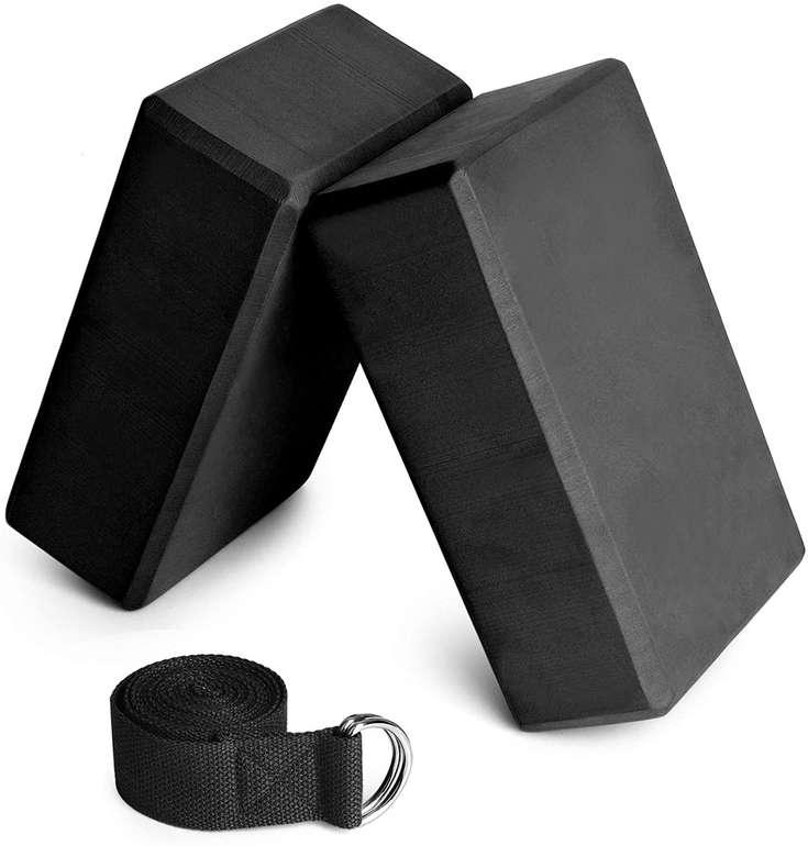 Festnight 2er Pack Yogablöcke in blau oder schwarz für je 8,49€ inkl. Prime Versand (statt 14€)