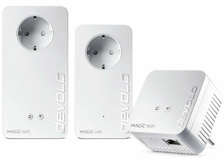 devolo Magic 1200+ WiFi Multiroom Kit Powerline Set Mesh WLAN 1200 Mbit/s für 139,99€