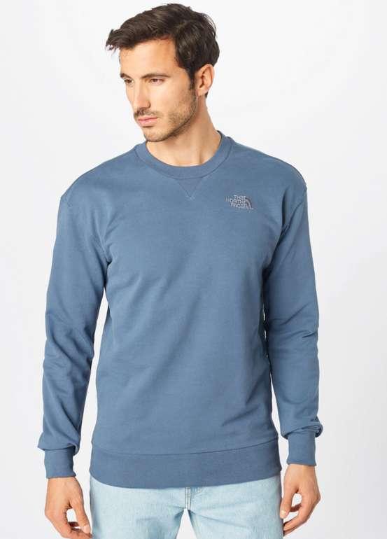The North Face Sweatshirt in rauchblau für 39,90€inkl. Versand (statt 60€)