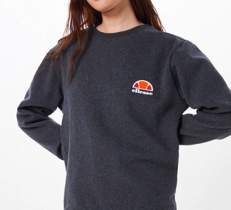 """Ellesse Damen Sweatshirt """"Haverford"""" in dunkelgrau für 30,32€ inkl. Versand (statt 50€)"""