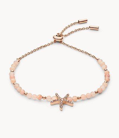 "Fossil Armband ""Beach Girl Beads Mondstein"" (JF03517791) für 27€ inkl. Versand (statt 32€)"