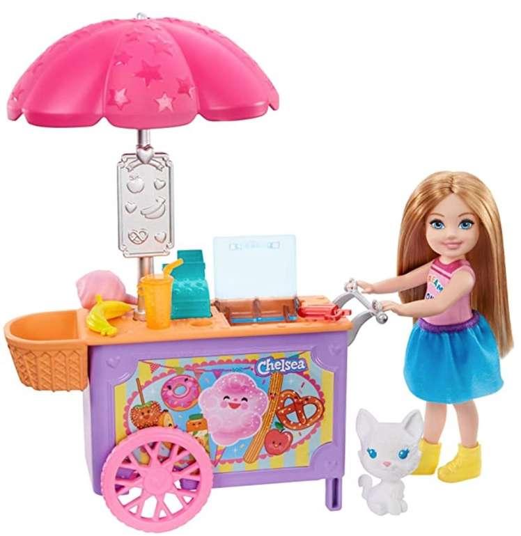 Barbie Chelsea-Spielset mit Puppe und Imbisswagen (GHV76) für 11,99€ inkl. Prime Versand (statt 23€)