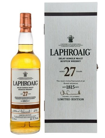 Laphroaig 27 Years Old Limited Edition Whisky für 494,90€ + 100,80€ Superpunkte
