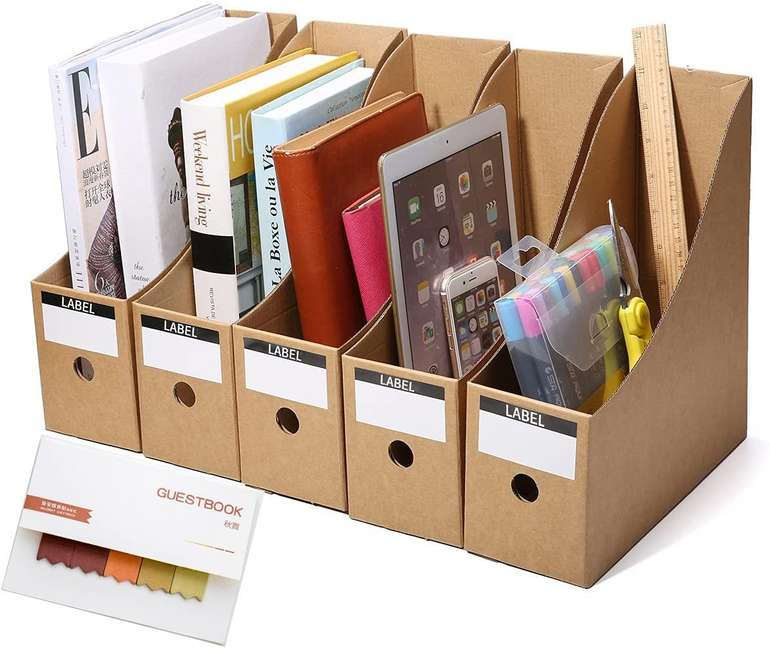 Letfit 5er Pack Papp Stehsammler für 4,99€ inkl. Versand (statt 10€)