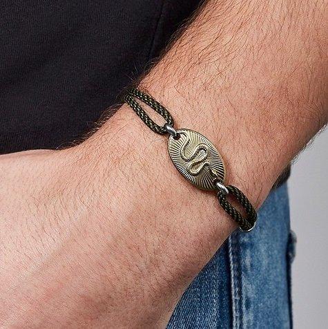 Fossil Serpent Herren Armband für 12€ inkl. Versand (statt 39€)