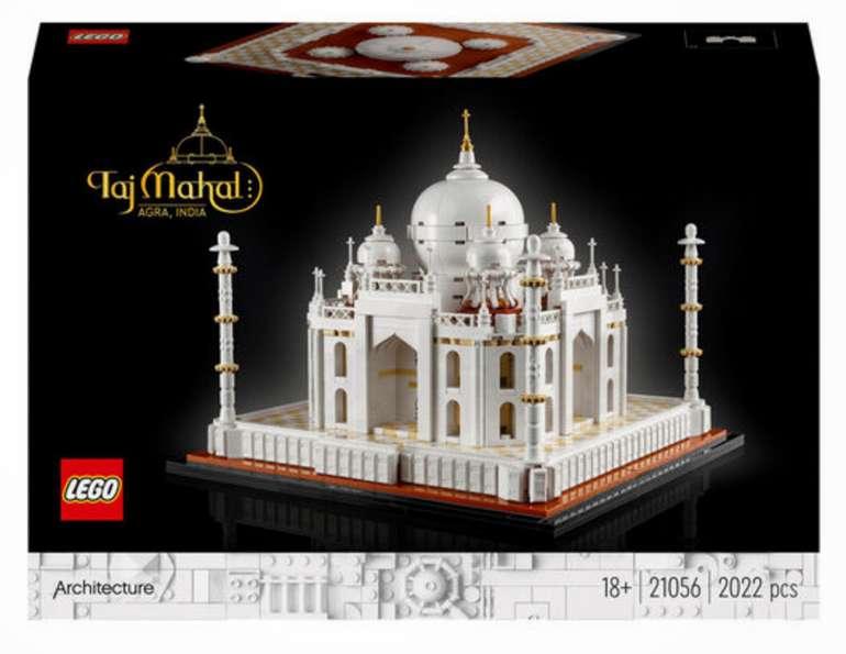 Lego Architecture Taj Mahal (21056) + Super Mario Baumeister (71373) für 80,98€ inkl. Versand (statt 98€) - Kundenkarte!