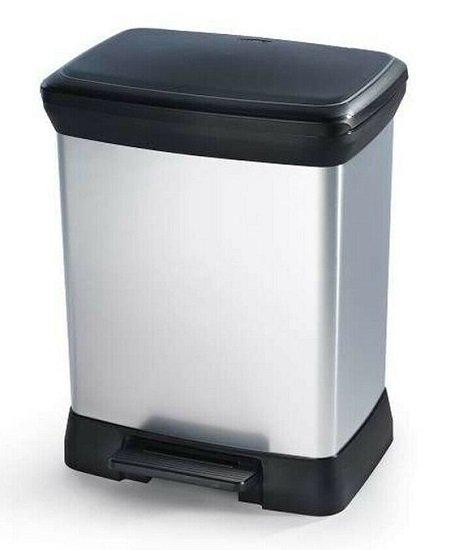Curver Mülleimer & Tierfutterbehälter bei Top12 reduziert - z.B. eco Bin Duo Abfalleimer für 29,24€