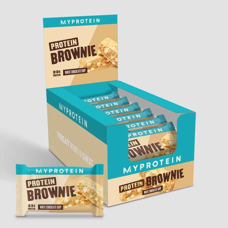 MyProtein: 46% auf alles - z.B. Protein Brownies ab 12,95€