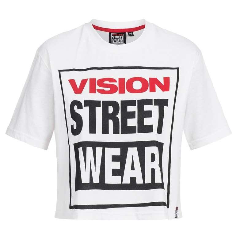Vision Street Wear Damen Cropped T-Shirt für 7,28€ (statt 14€)