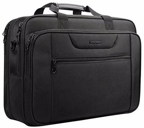 """Kroser XXL Laptop Business Tasche für bis zu 18,5"""" Notebooks nur 28,49€"""