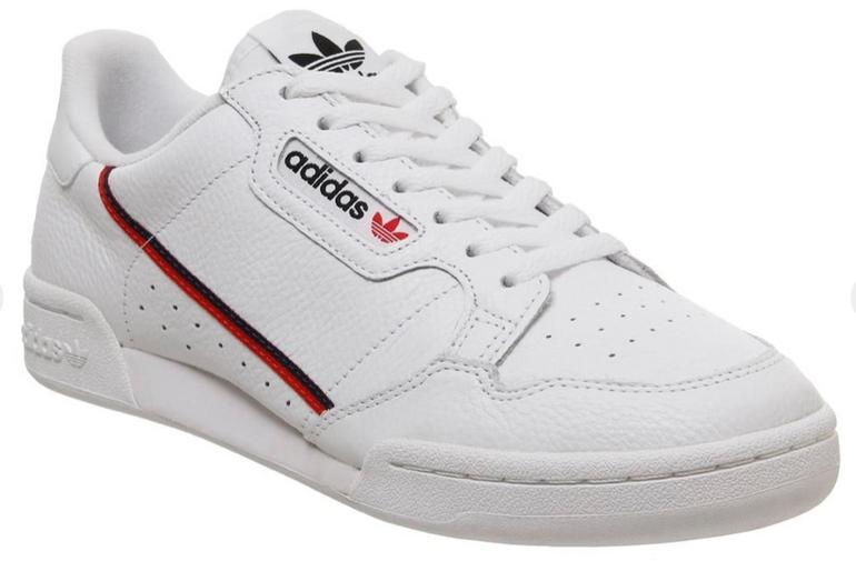Adidas 80s Continental Trainers Sneaker in weiß für 65€ (statt 80€)