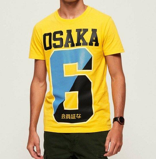 Superdry Herren Osaka T-Shirts für je nur 13,95€ (statt 19€)