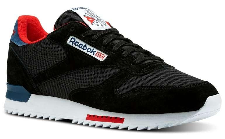 Reebok: 20€ Rabatt ab 50€ MBW für ausgewählte Produkte, z.B. CL Leather Ripple Clip Sneaker für 49,97€