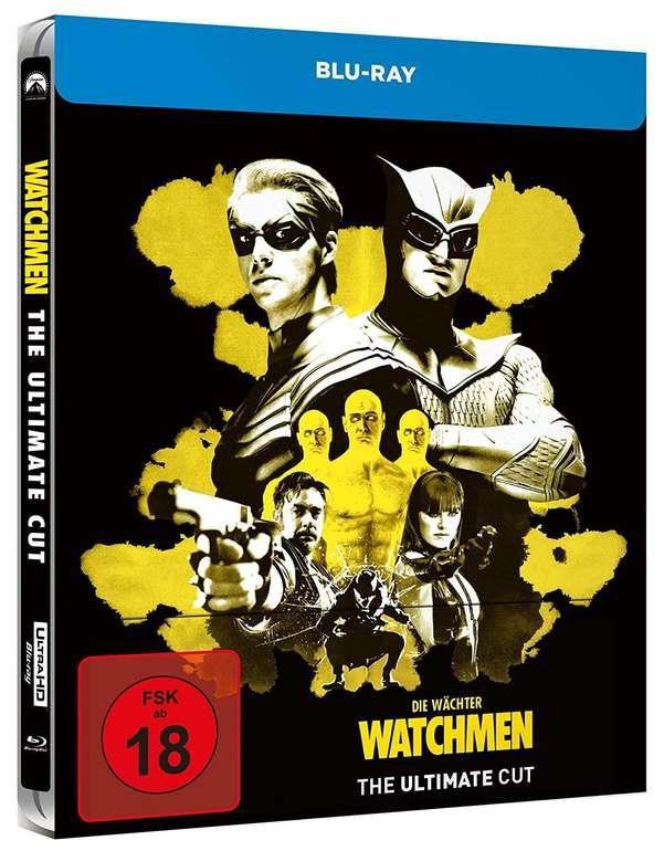 Watchmen Ultimate Cut Blu-ray (Steelbook) für 16,99€ inkl. Versand (statt 27€)