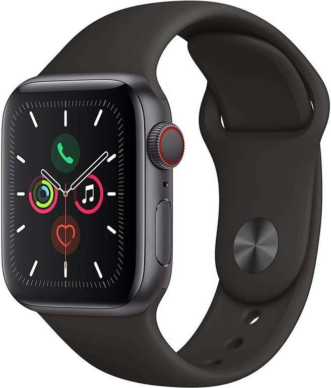 Apple Watch Series 5 GPS 40mm Aluminiumgehäuse für 349,90€ inkl. Versand (statt 380€)