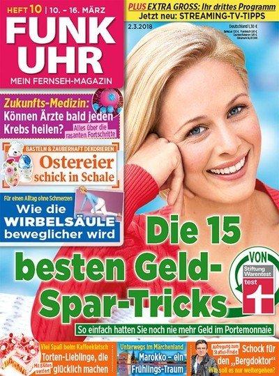 """52 Ausgaben der Zeitschrift """"Funk Uhr"""" für 67,60€ + 45€ Verrechnungsscheck!"""