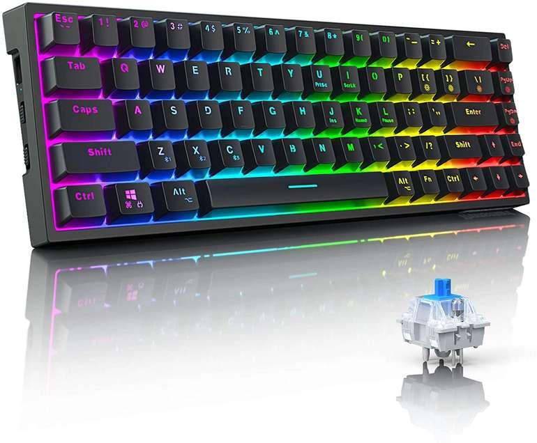 Tronsmart mechanische RGB Gaming Tastatur für 51,74€ inkl. Versand (statt 69€)