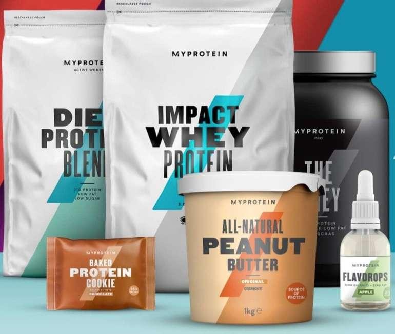 Top! Myprotein: 60% Rabatt auf ausgewählte Produkte - z.B. 2,5kg Impact Whey Protein Elite für 18,79€