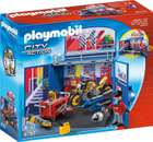 "Playmobil 6157 City Action - Aufklapp-Spiel-Box ""Motorradwerkstatt"" für 24,98€ (statt 33€)"
