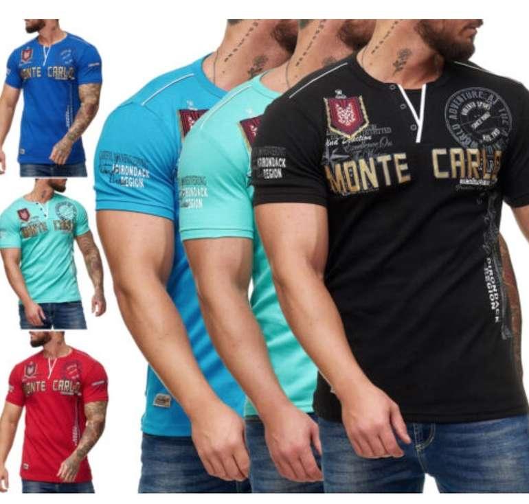 OneRedox Monte Carlo Herren Shirts (versch. Farben) für je 12,90€ inkl. Versand (statt 17€)