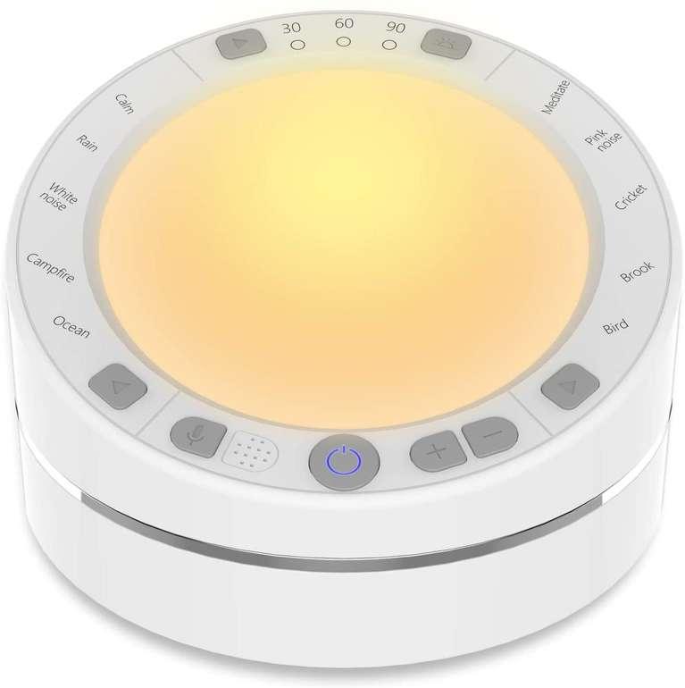 Bentale White Noise Machine (Einschlafhilfe) für 20,99€ inkl. Versand (statt 36€)