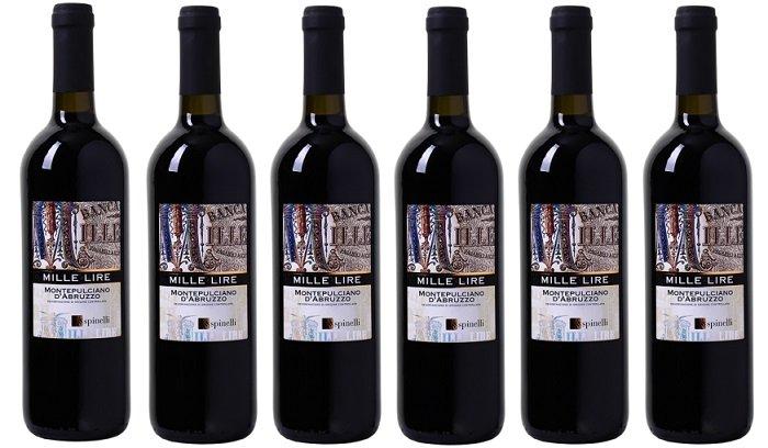 Spinelli - Mille Lire - Montepulciano d'Abruzzo DOC für 22,89€ (statt 25€)