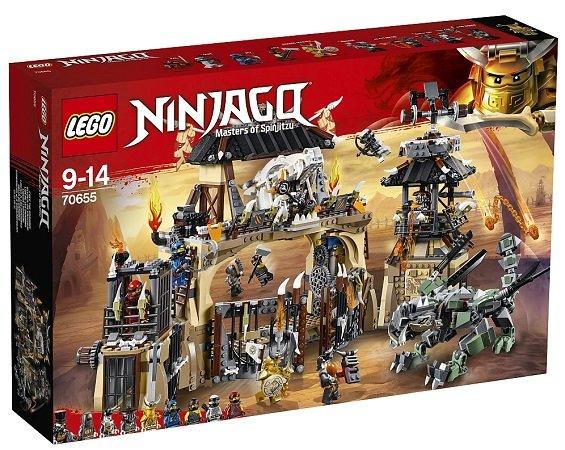 Lego Ninjago - Drachengrube (70655) für nur 89,99€ inkl. VSK (statt 110€)