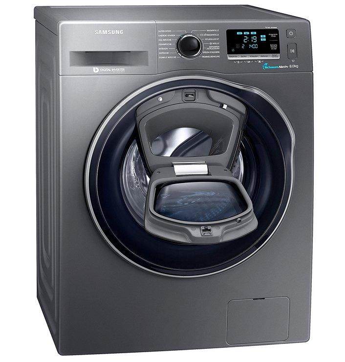 Samsung WW80K6404QX/EG - 8kg Waschmaschine EEK: A+++ für 549€ inkl. VSK
