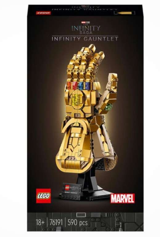 Lego Marvel Super Heroes - Infinity Handschuh (76191) für 45,99€ (statt 57€) - Galeria Kundenkarte!