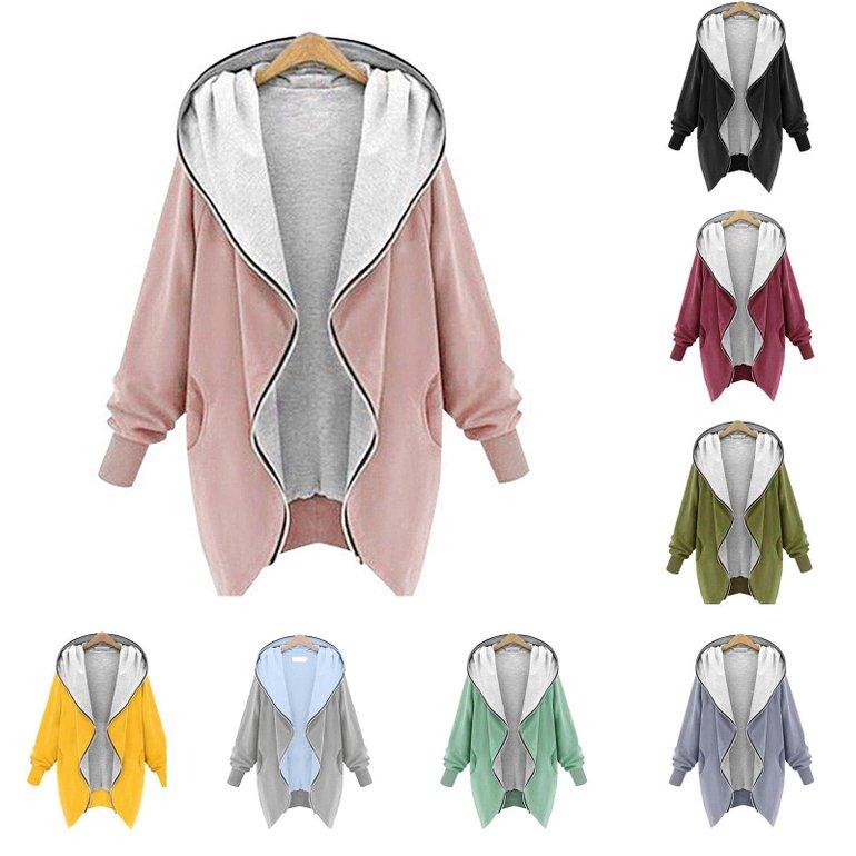 LBC by Lesara Jersey Damen Jacke (versch. Farben) für je 19,99€…
