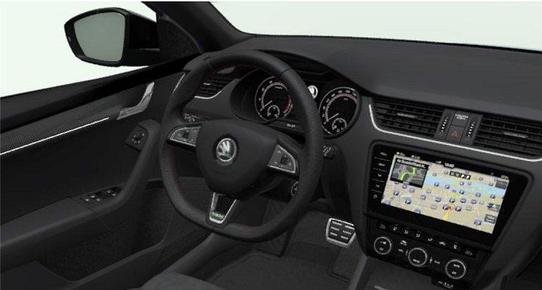 Skoda Octavia RS60 Combi leasing 3
