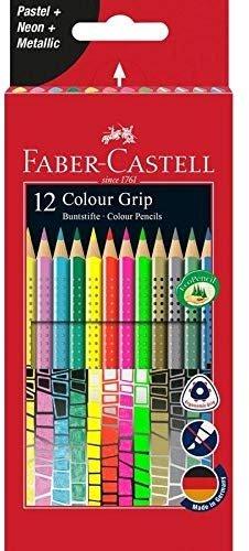 12er Etui Faber-Castell 201569 Buntstift Sonderfarbset für 5,49€ (statt 9€) - Fillialabholung