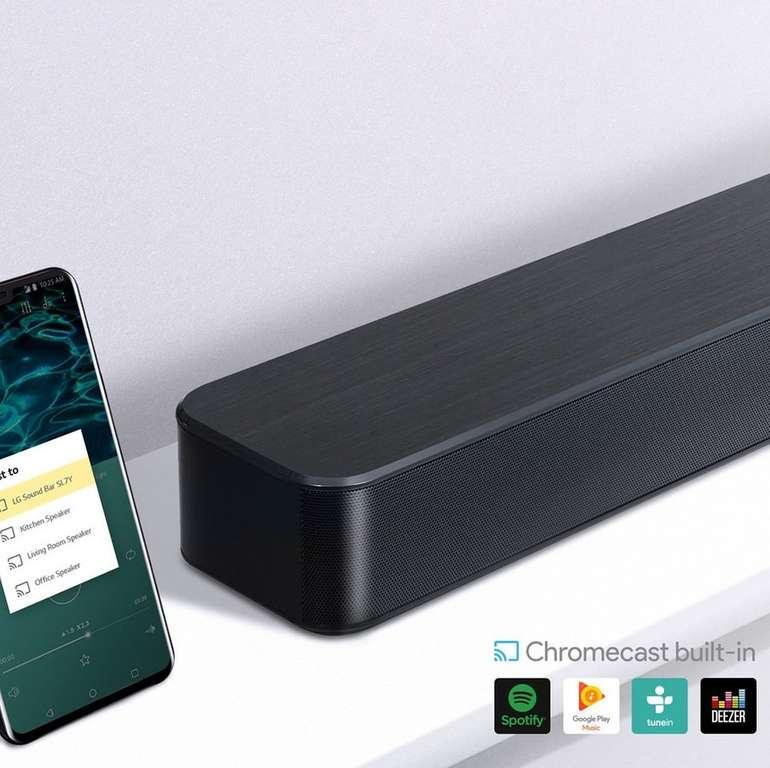 LG SL7Y 3.1 Soundbar mit 420 Watt inkl. kabellosem Subwoofer für 258,90€ (statt 358€)