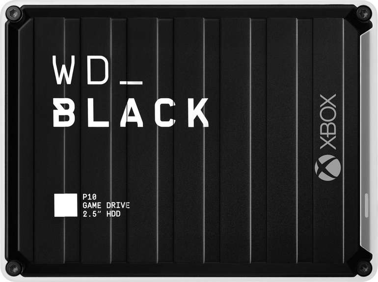 Western Digital Black P10 Game Drive for Xbox One 5TB + 2 Monate Xbox Game Pass für 116,99€