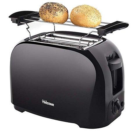 Tristar BR-1025 Toaster - 6 einstellbare Bräunungsstufen mit Brötchenaufsatz 10€