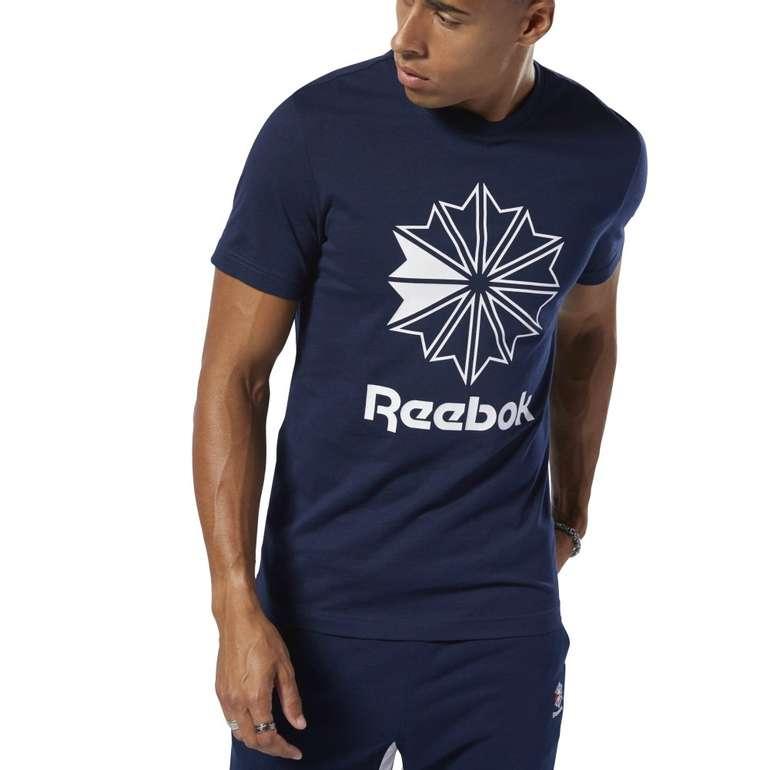 Reebok Classics Big Logo T-Shirt in blau für 19,44€ inkl. Versand (statt 26€)